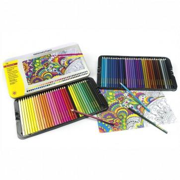 EBERHARD FABER Farbstifte 72 Farben im Metall-Etui