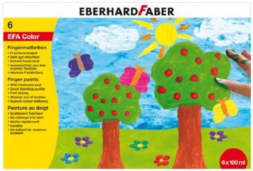 EBERHARD FABER Fingerfarben 6 x 100ml