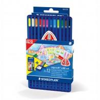 STAEDTLER Farbstift ergosoft 157SB12 Refill Set 12 + 12 Stück -SPARPACK-
