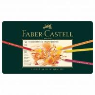 FABER CASTELL Farbstifte Polychromos 36 Stück im Metalletui