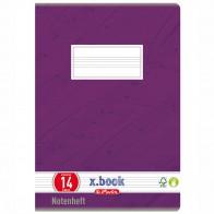 HERLITZ Notenheft A5 8 Blatt LIN 14 Notenlineatur