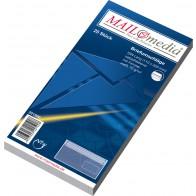 MAILMEDIA Briefumschlag DL mit Fenster selbstklebend weiß 25 Stück