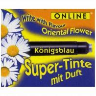 ONLINE Tintenpatronen SUPER TINTE kurz königsblau mit Duft