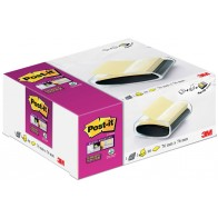 POST-IT Haftnotizspender PRO-B1Y sw +1xSuper Sticky Z-N