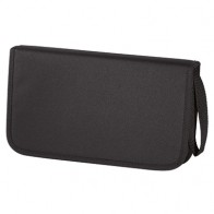 Hama CD-Wallet 64er Nylon  11616 schwarz