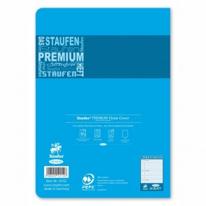 STAUFEN Premium Hausaufgabenheft A5 24 Blatt 90g Seiten perforiert