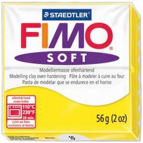 STAEDTLER Modelliermasse Fimo soft 57g 8020-10 limonengelb