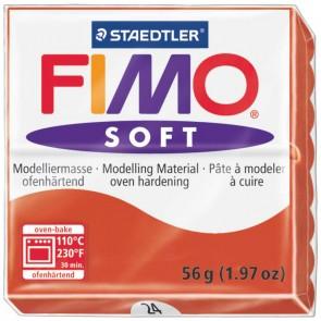 STAEDTLER Modelliermasse Fimo soft 57g 8020-24 indischrot