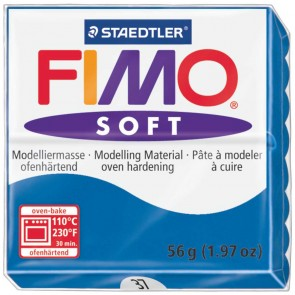 STAEDTLER Modelliermasse Fimo soft 57g 8020-37 pazifikblau