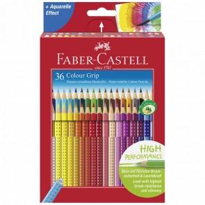 FABER CASTELL Farbstift COLOUR GRIP 2001 36 Stück Kartonetui