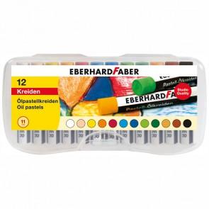 EBERHARD FABER Ölpastellkreide 12er Plastikbox