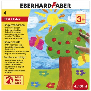 EBERHARD FABER Fingerfarben 4 x 100ml