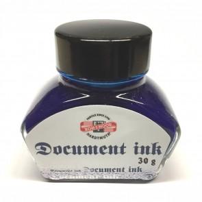 KOH-I-NOOR Tinte im Glas 30ml königsblau dokumentenecht