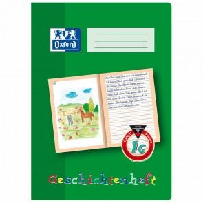 OXFORD Geschichtenheft A4 16 Blatt Lineatur 1G