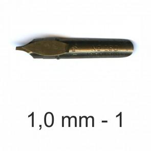 BRAUSE Bandzug Zeichenfeder 1,0mm