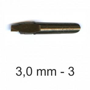 BRAUSE Bandzug Zeichenfeder 3,0 mm