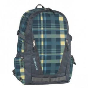 CEVEE Schulrucksack Backpack OXFORD VOGUE caro / blue
