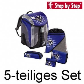 Step by Step FLEXLINE Schulranzen-Set SOCCER II 5-tlg.