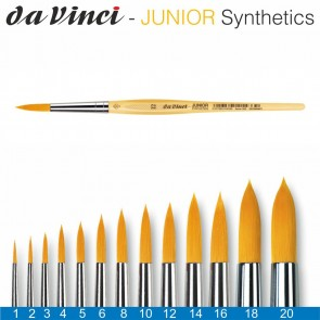 DA VINCI Haarpinsel Junior Synthetics Gr. 2