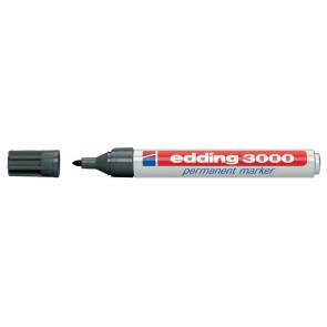 EDDING Permanentmarker 3000 grau 1,5-3mm