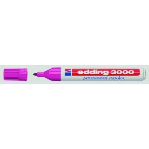 EDDING Permanentmarker 3000 rosa 1,5-3mm