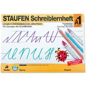 STAUFEN Schreiblernheft A1 A4 16 Blatt